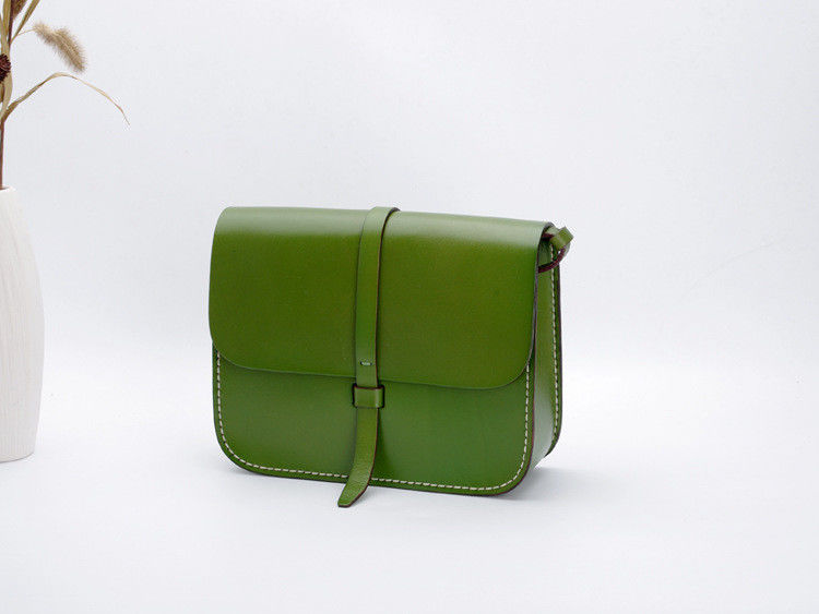 Green Leather Bag Women Wholesale Classical Design Shoulder Bags