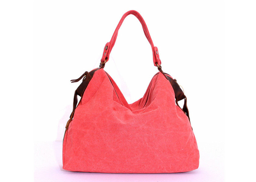 Madewell Red Womens Canvas Bags Tote Solid Vintage Canvas Bags
