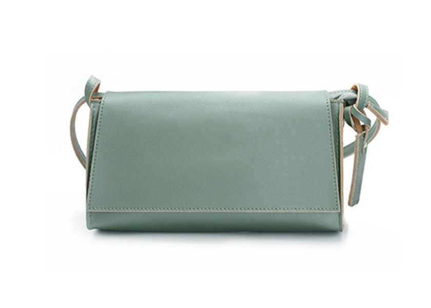 LH-31-3 Wholesale Handbags China Light Green Handmade Leather Handbags
