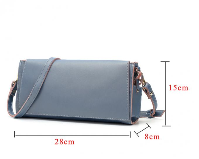 Genuine Leather Handbags for Women Small Flap Crossbody Messenger Bag