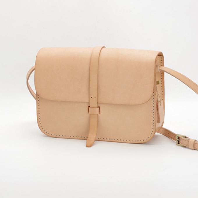 Primary Colour Vegetable Tanned Leather Bag Womens Crossbody Handbags Wholesale
